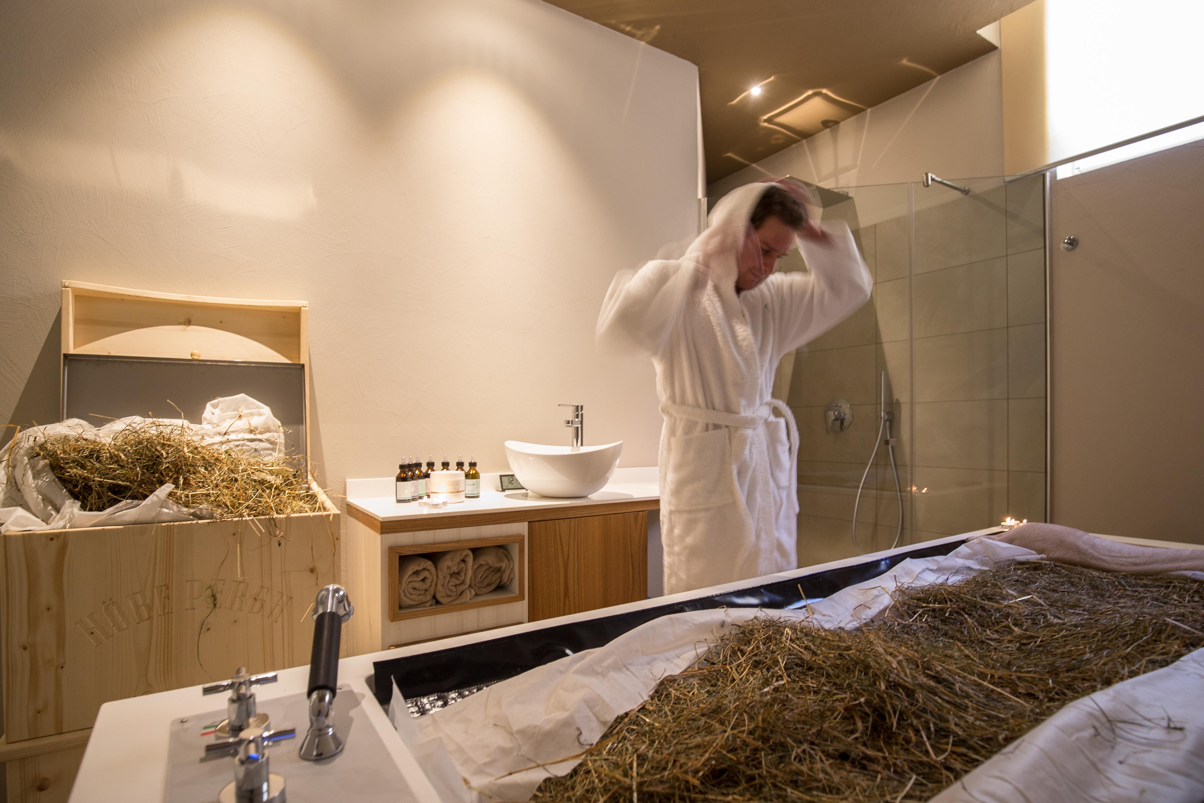 Bagno bagni di fieno hotel erica